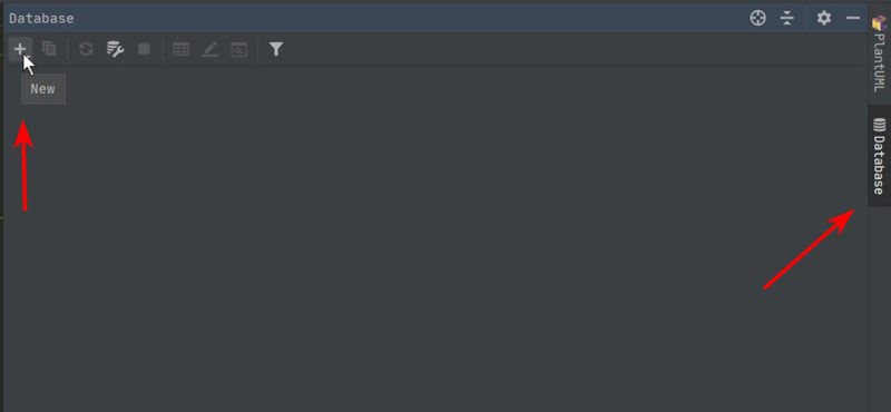 「+」ボタンから新規に設定を作ります。