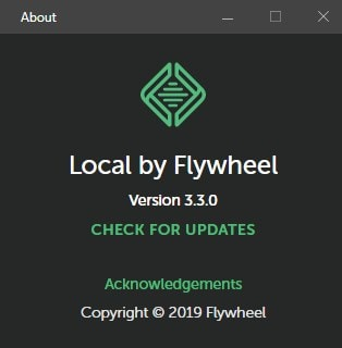 Local by Wheel 3.3.0